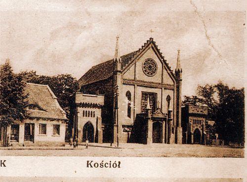 Kościół przed wojną