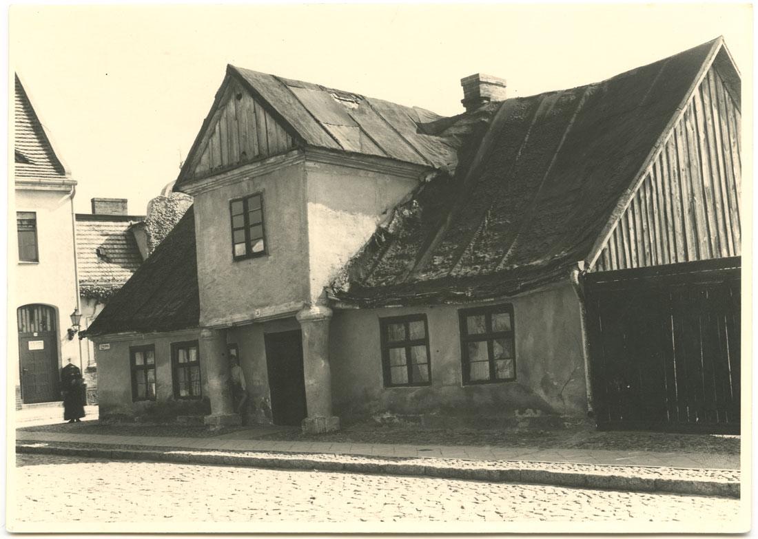 ulica Pocztowa Kórnik 1947