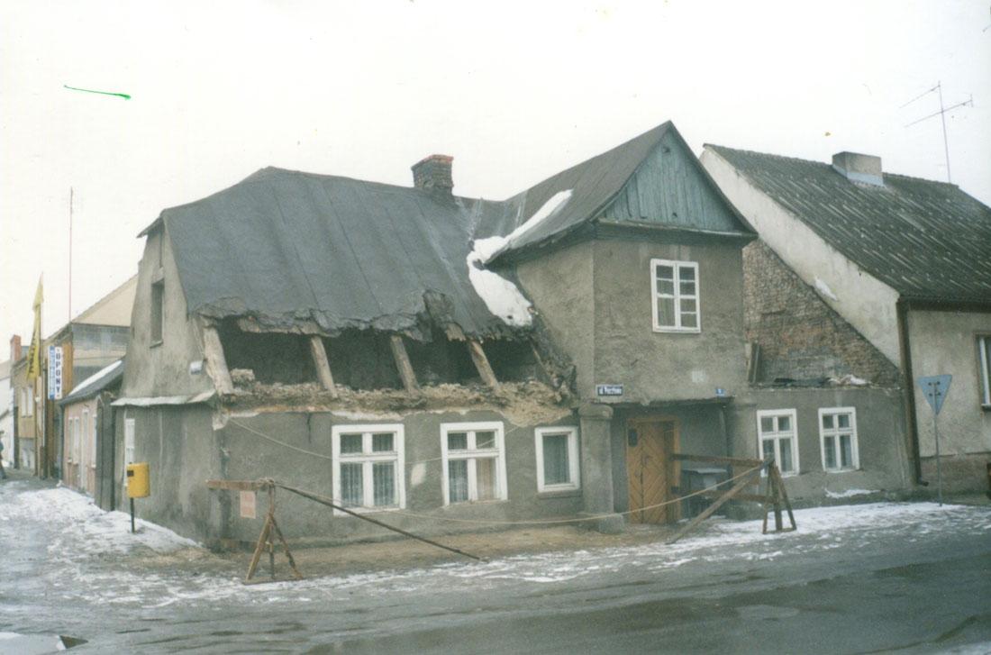 ulica Pocztowa Kórnik 2002