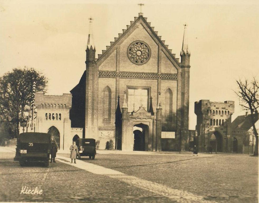 Kościół w Kórniku - II wojna