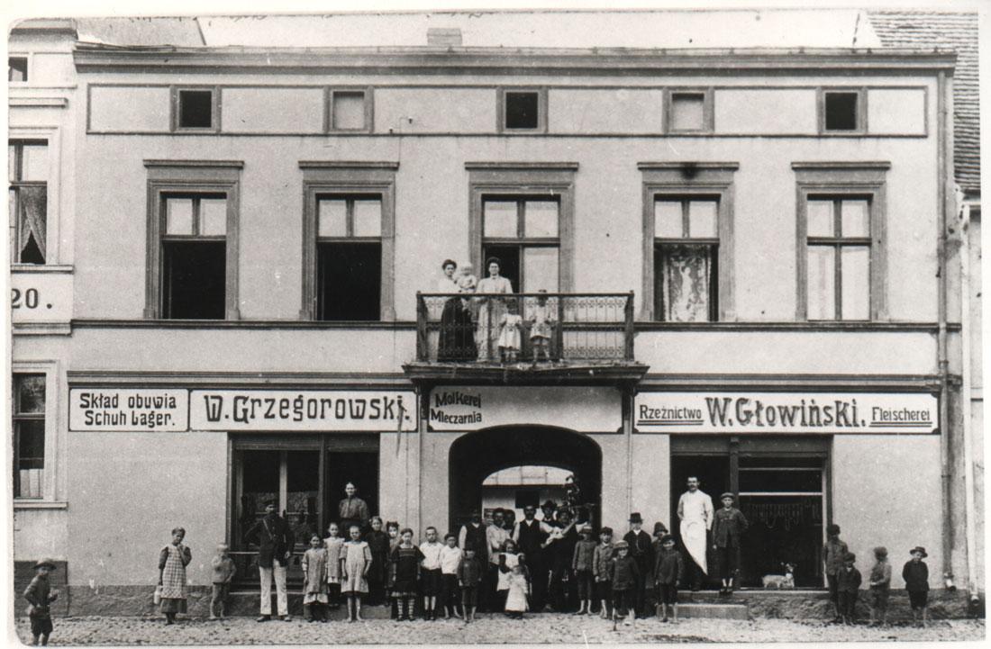 Rynek 14, Kórnik - Grzegorowski i Głowiński