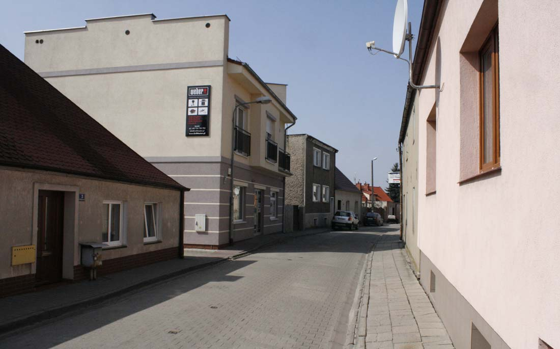 ulica Poprzeczna Kórnik 2015