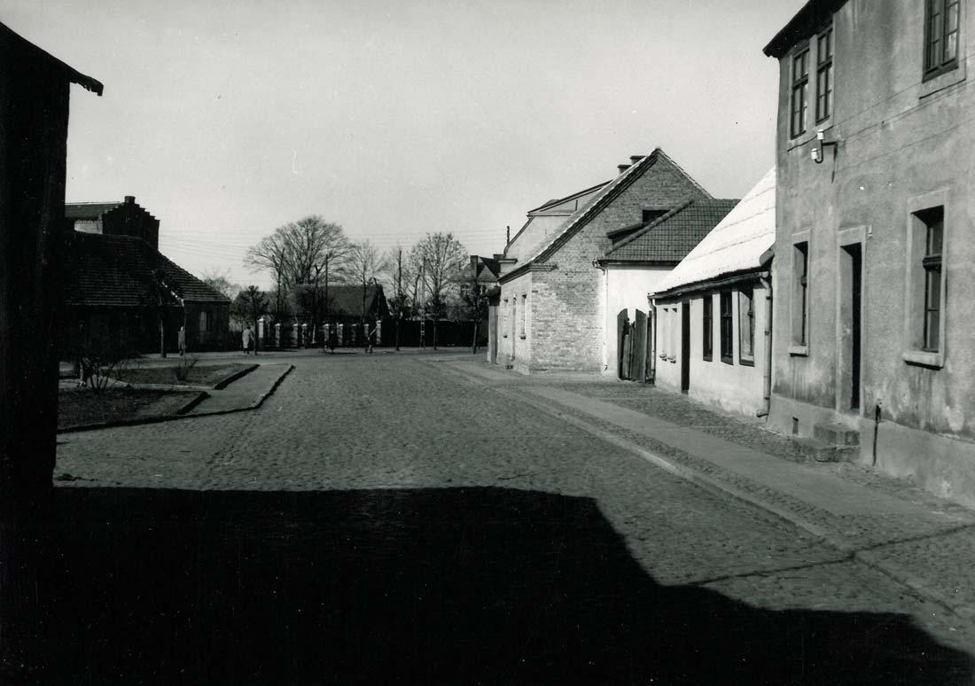 ulica Poprzeczna Kórnik 1961