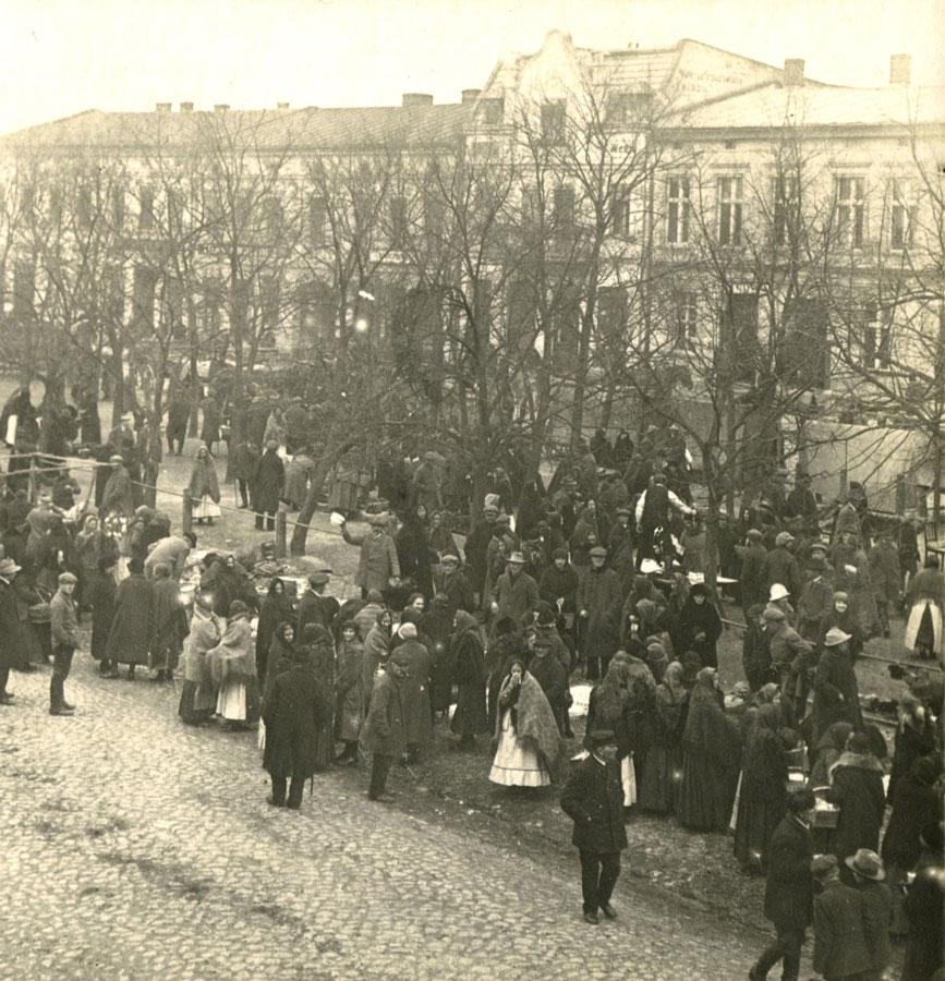 jarmark w kórniku 1926