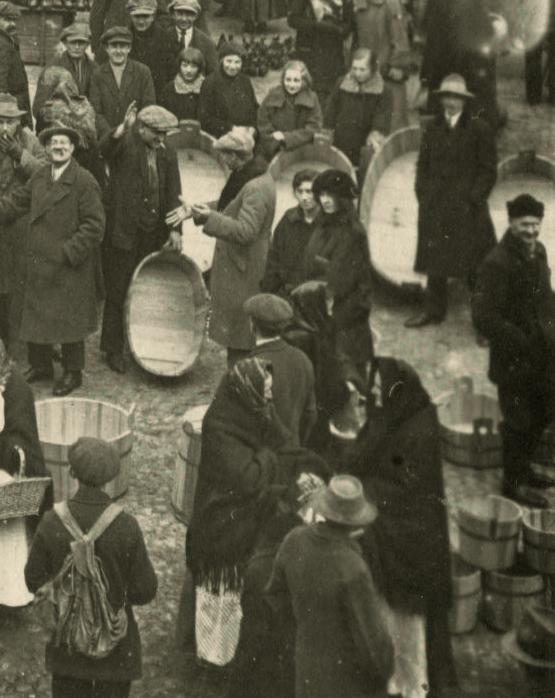 Kórnik jarmark 1926 - balie