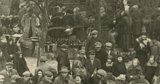 Kórnik jarmark 1926 - buty