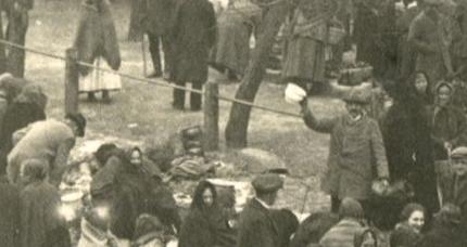 Kórnik jarmark 1926 - garnki