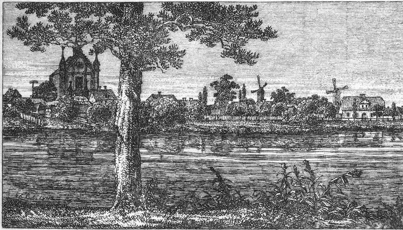 Panorama Kórnika 1842