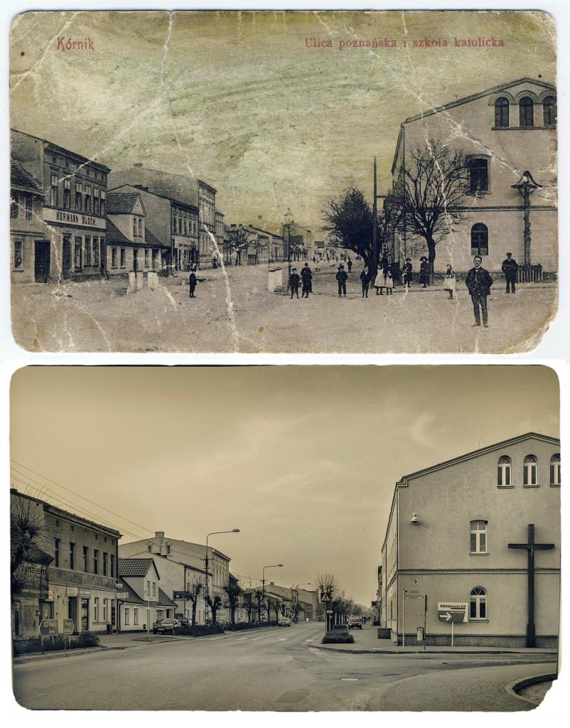 ul. Poznańska Szkoła Powszechna kiedyś i dziś