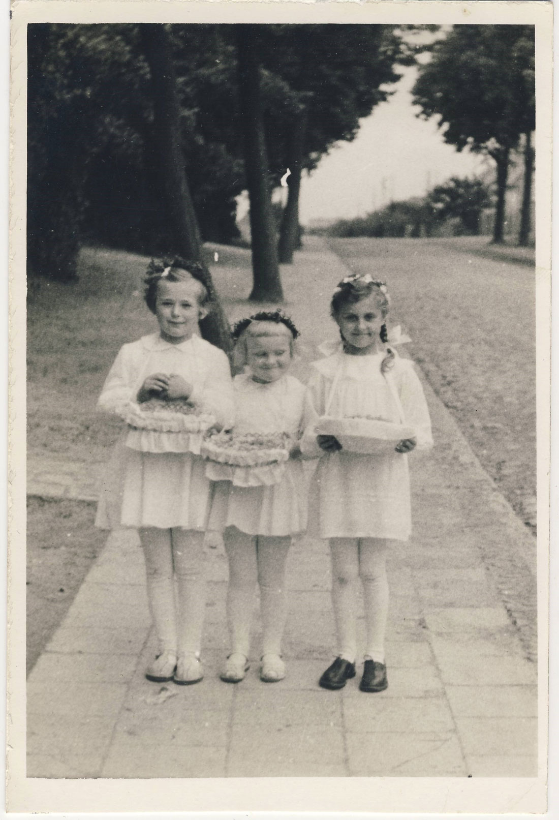 ulica Dworcowa Kórnik - 1961