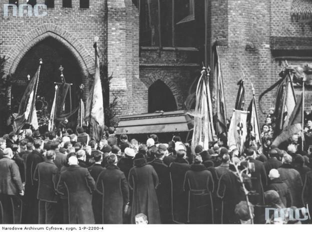 Pogrzeb Hrabianki Marii Zamoyskiej