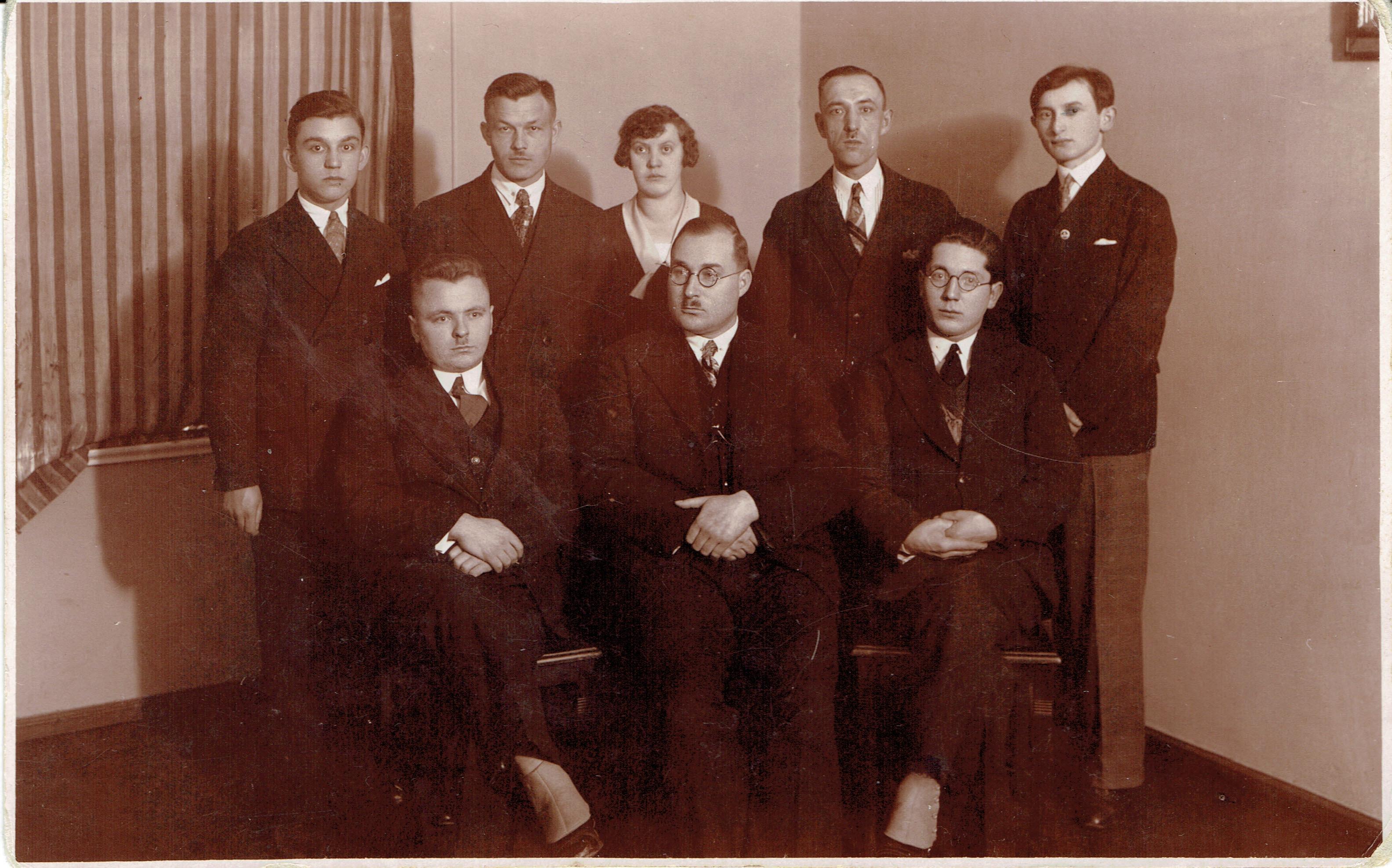 Magistrat miasta kórnik 1931r. - teofil wolniewicz