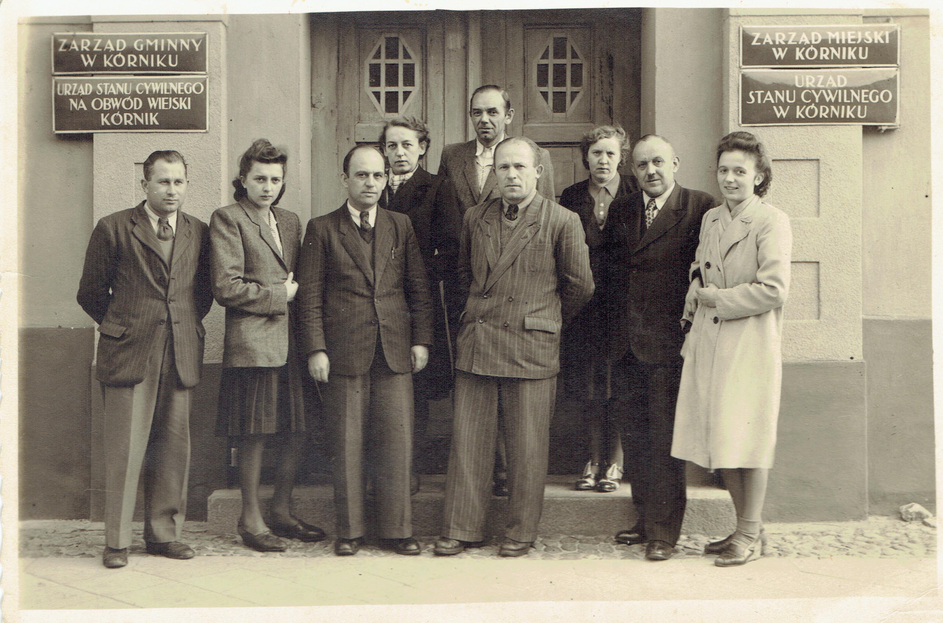 magistrat miasta kórnik lata 50te