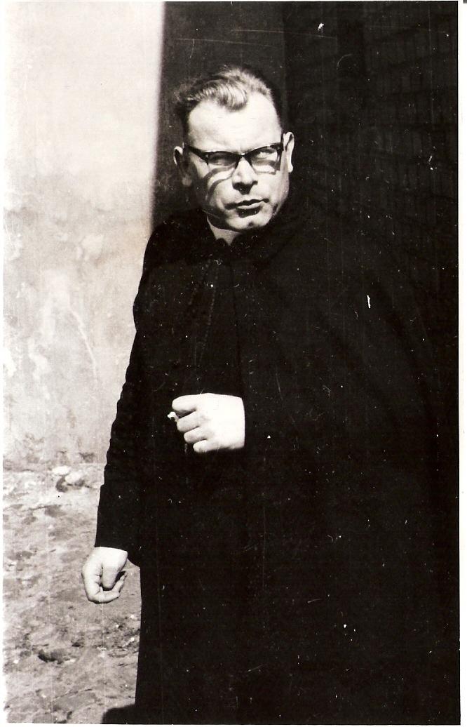 Ksiądz proboszcz Tadeusz Jabłoński