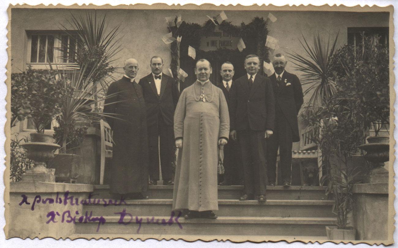 Wizytacja biskupa Walentego Dymka