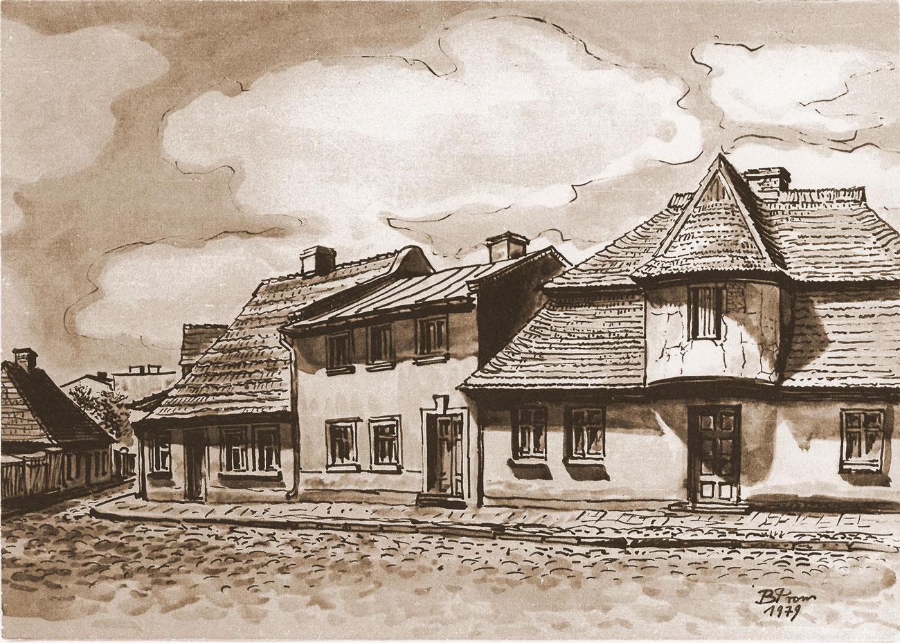 Stary Kórnik i Bnin na rysunkach Promińskiego
