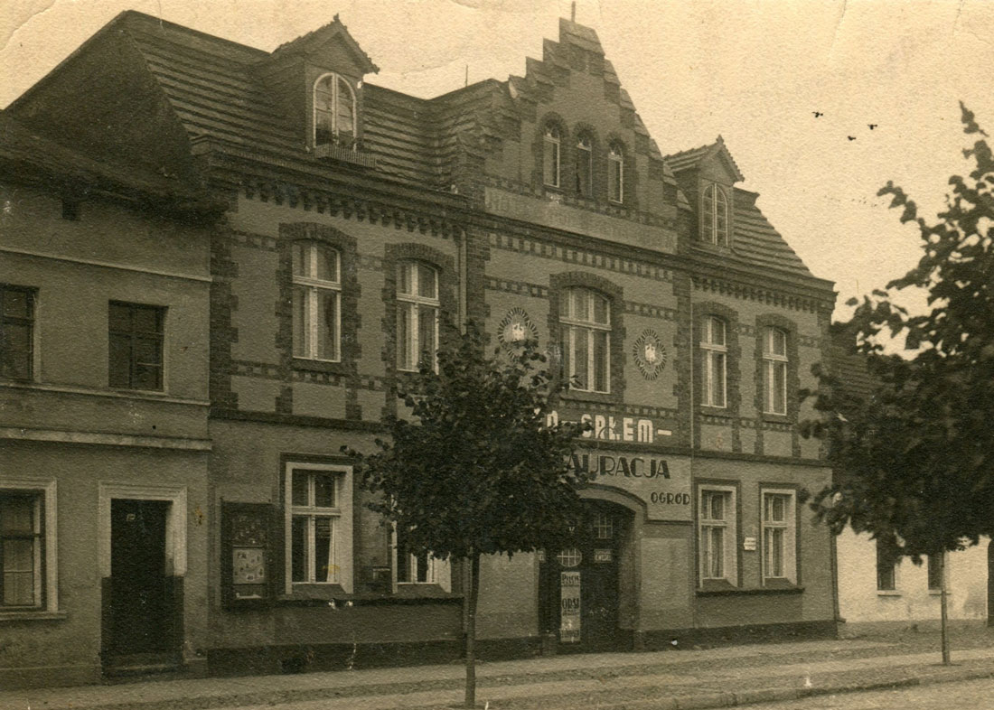 Hotel pod Białym Orłem 1940 - Kórnik