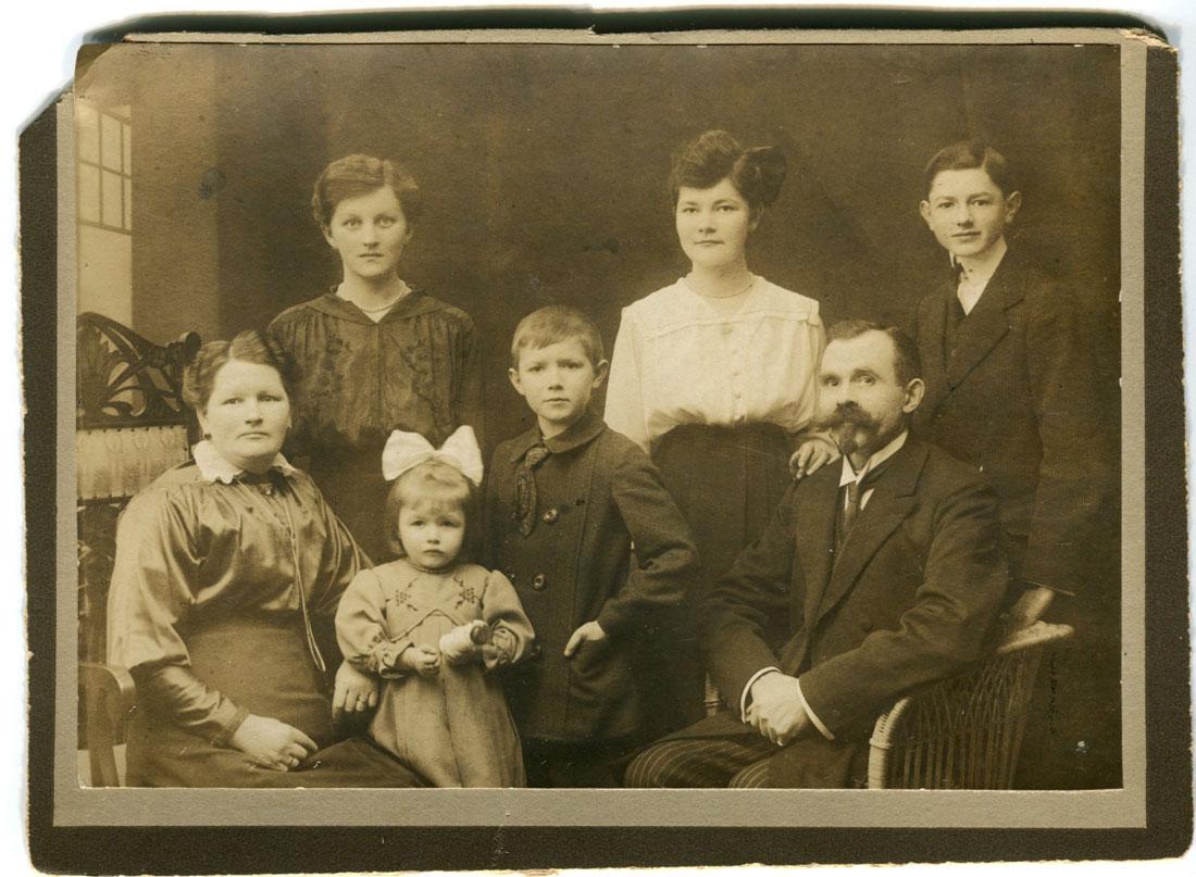 Rodzina Pasikowskich 1919 Kórnik