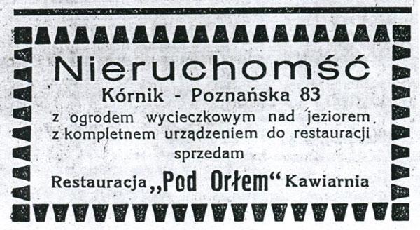 Tygodnik Parafialny Kórnik 1935