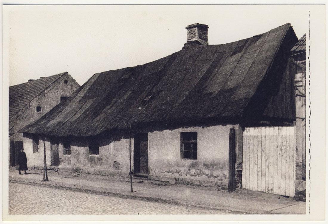 ul. Poznańska – dom Steinitz'a