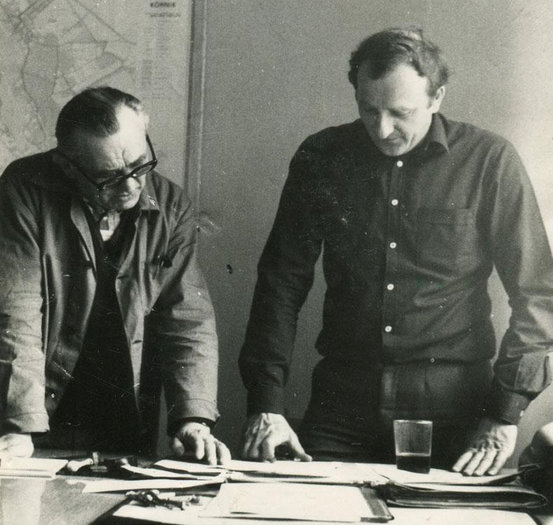 Kazimierz Borowski i Marian Pieczyński