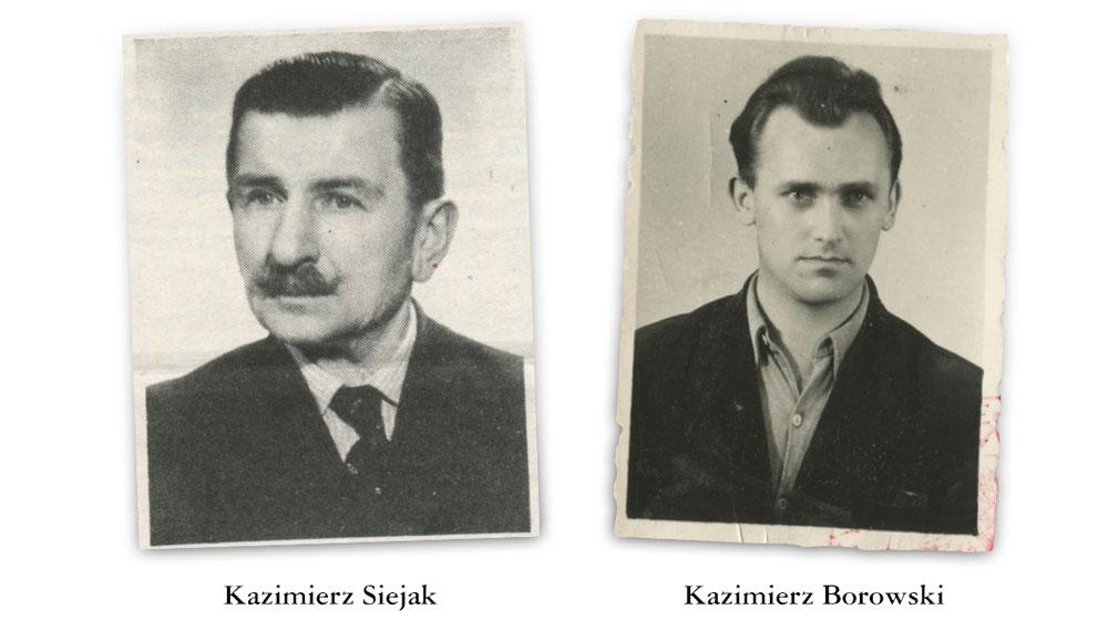Kazimierz Siejak i Kazimierz Borowski