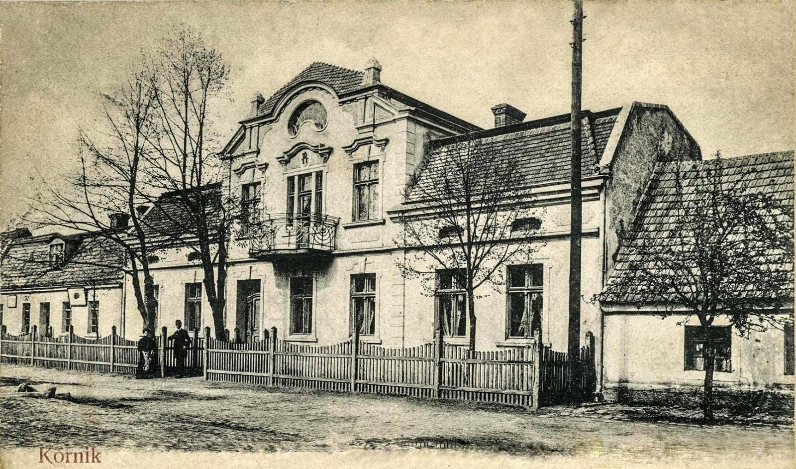 Antoni Ruczyński - Kórnik 1911