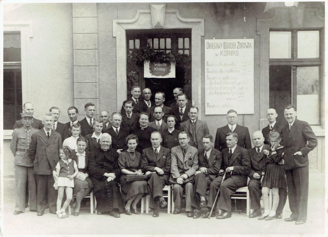 Poświęcenie Ośrodka Zdrowia w Kórniku - 1946