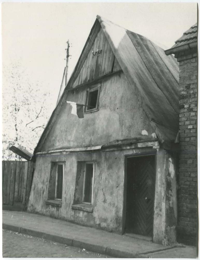 Dom mieszczański, Kórnik, ul. Poprzeczna 5, 1966 rok