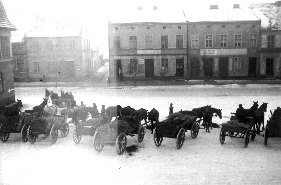 ucieczka Niemców z Kórnika 1945