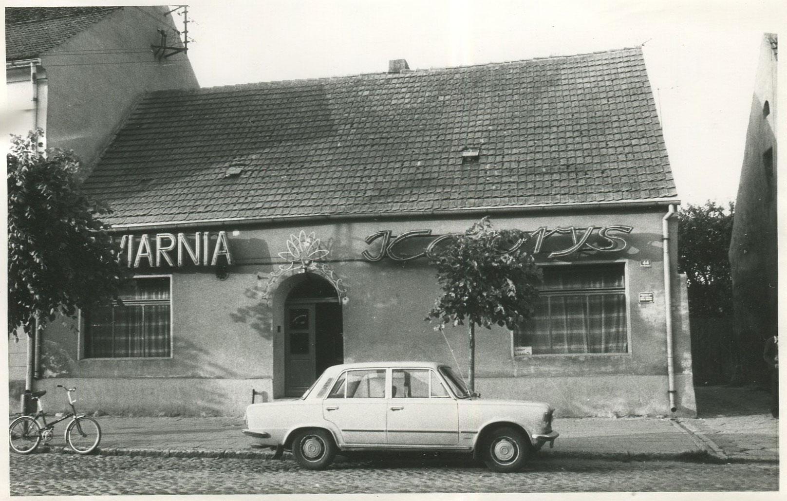 Restauracja Kaprys Kórnik - 1977 rok