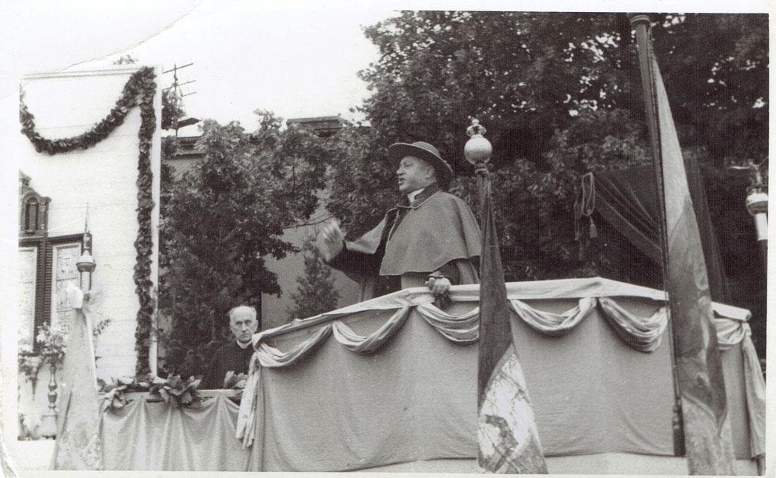 500-lecie Parafii Wszystkich Świętych w Kórniku - Hlond