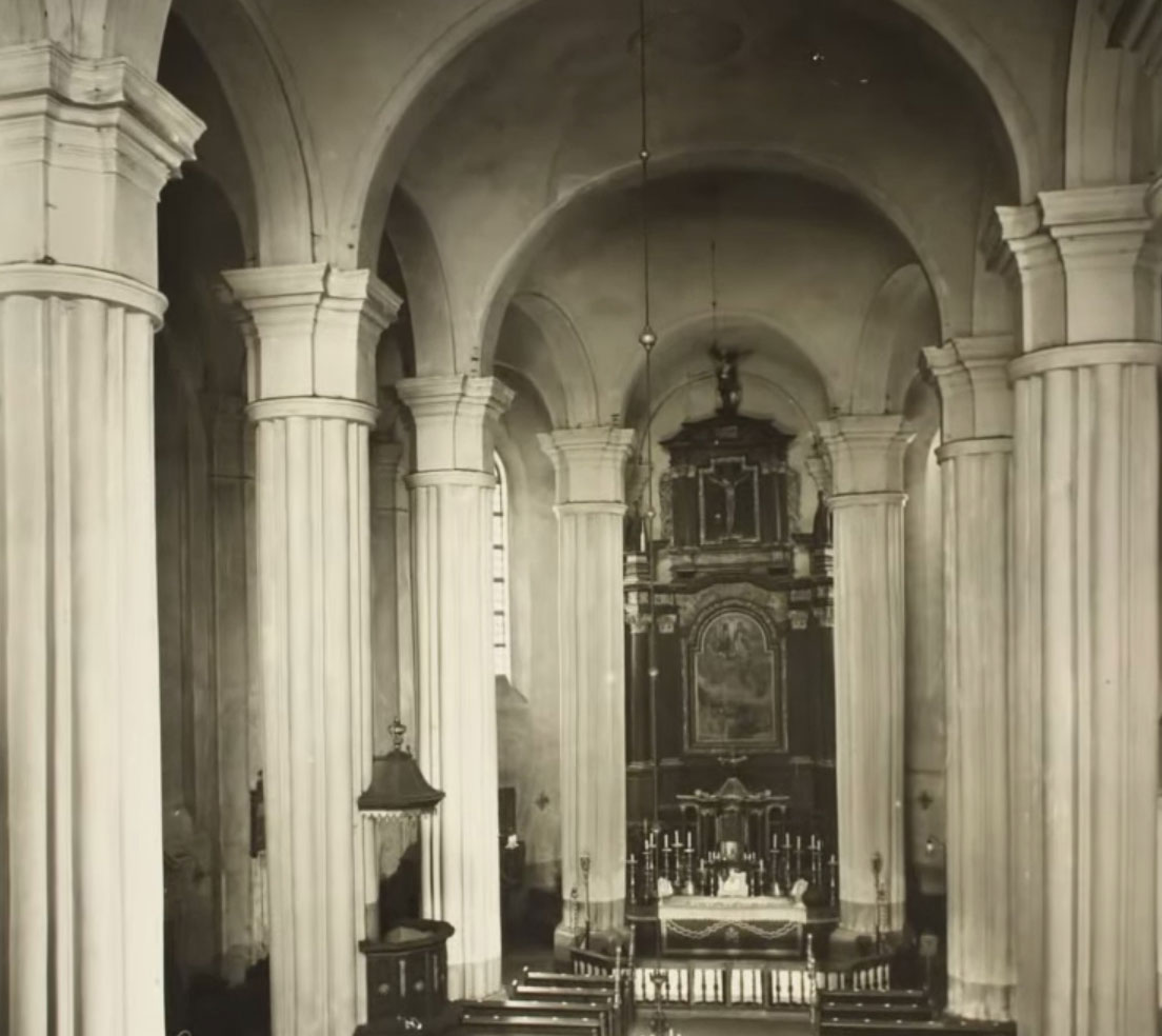 Kościół Kórnik przed remontem - 1936 rok