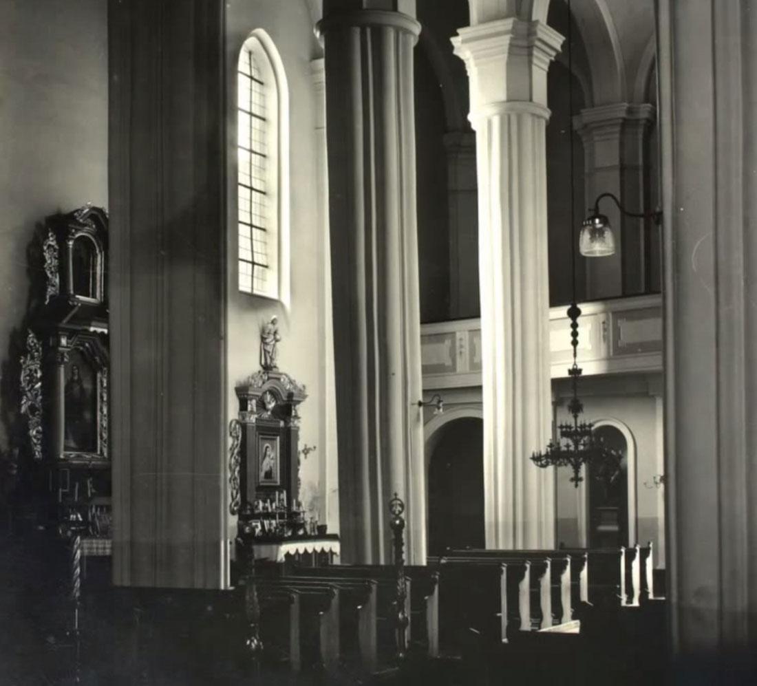 Kościół Kórnik po remoncie - 1937 rok