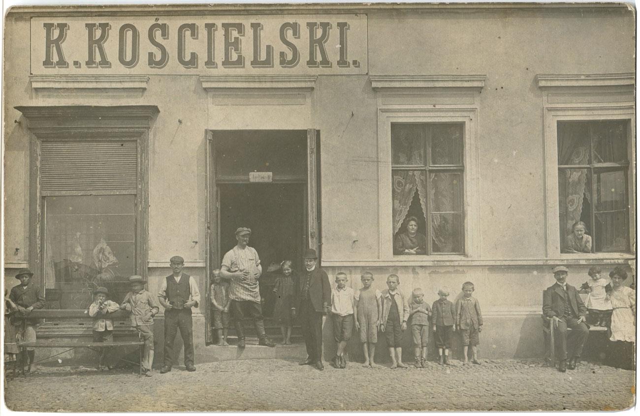 K.Kościelski - Kórnik ul. Poznańska ok. 1910r