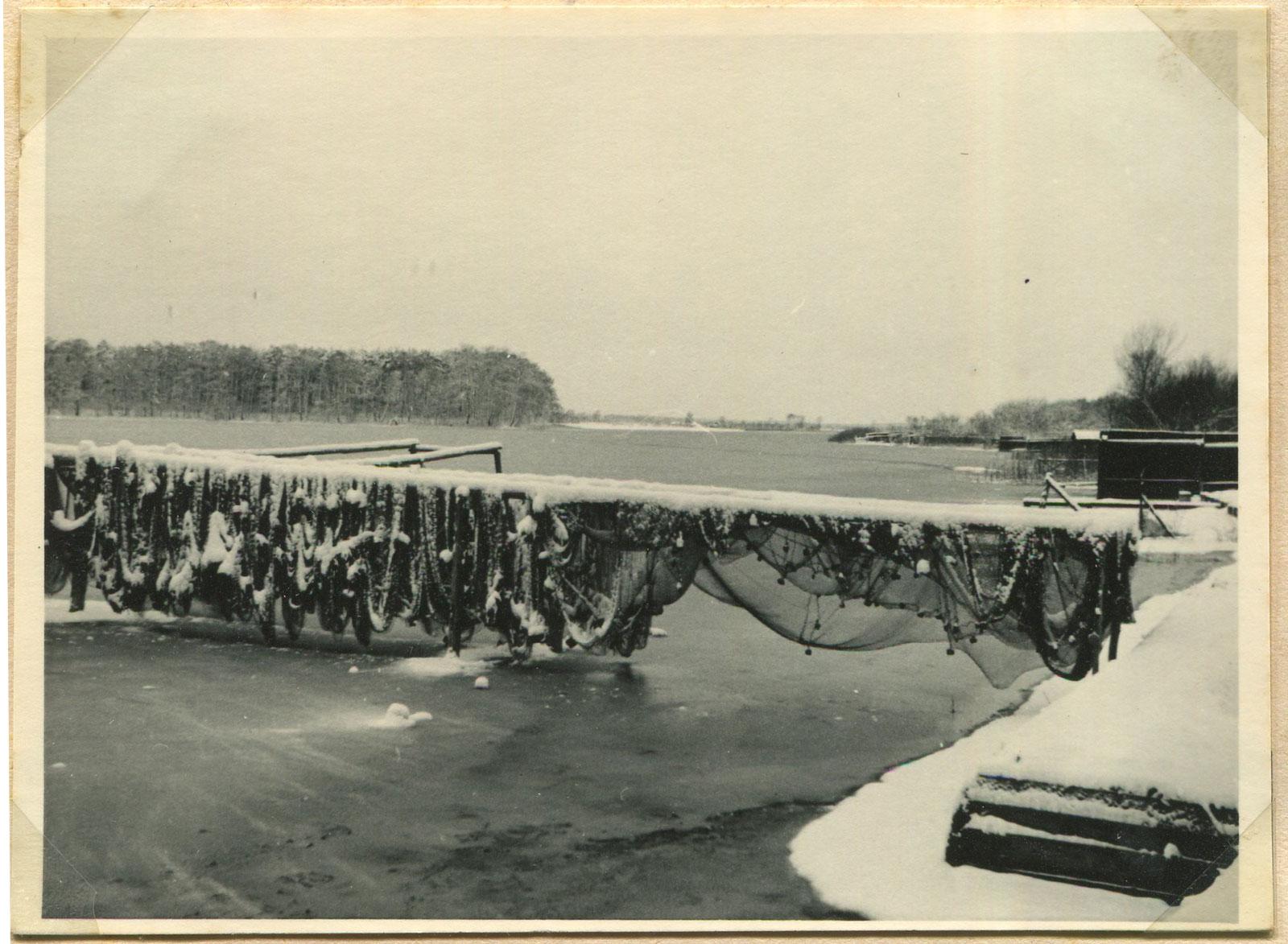 Jezioro Kórnik - zima 1939 rok