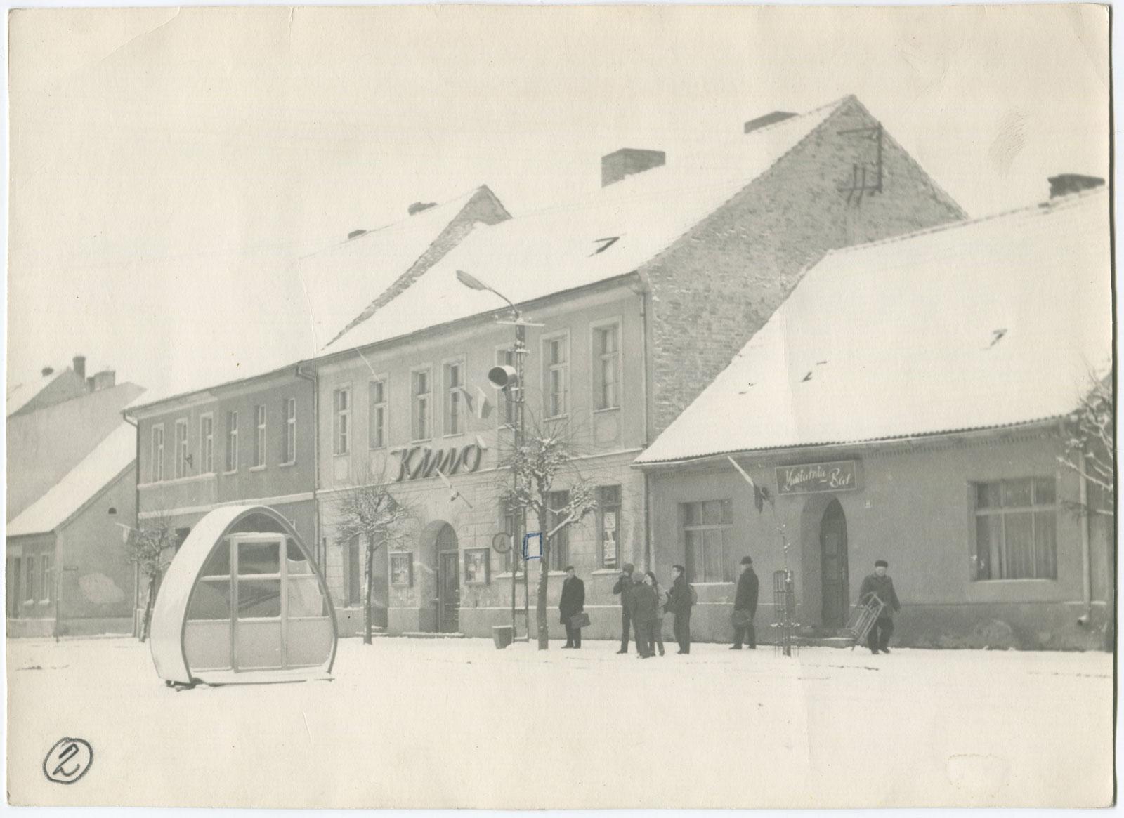 Kórnik Kino Zorza - zima lata 70-te