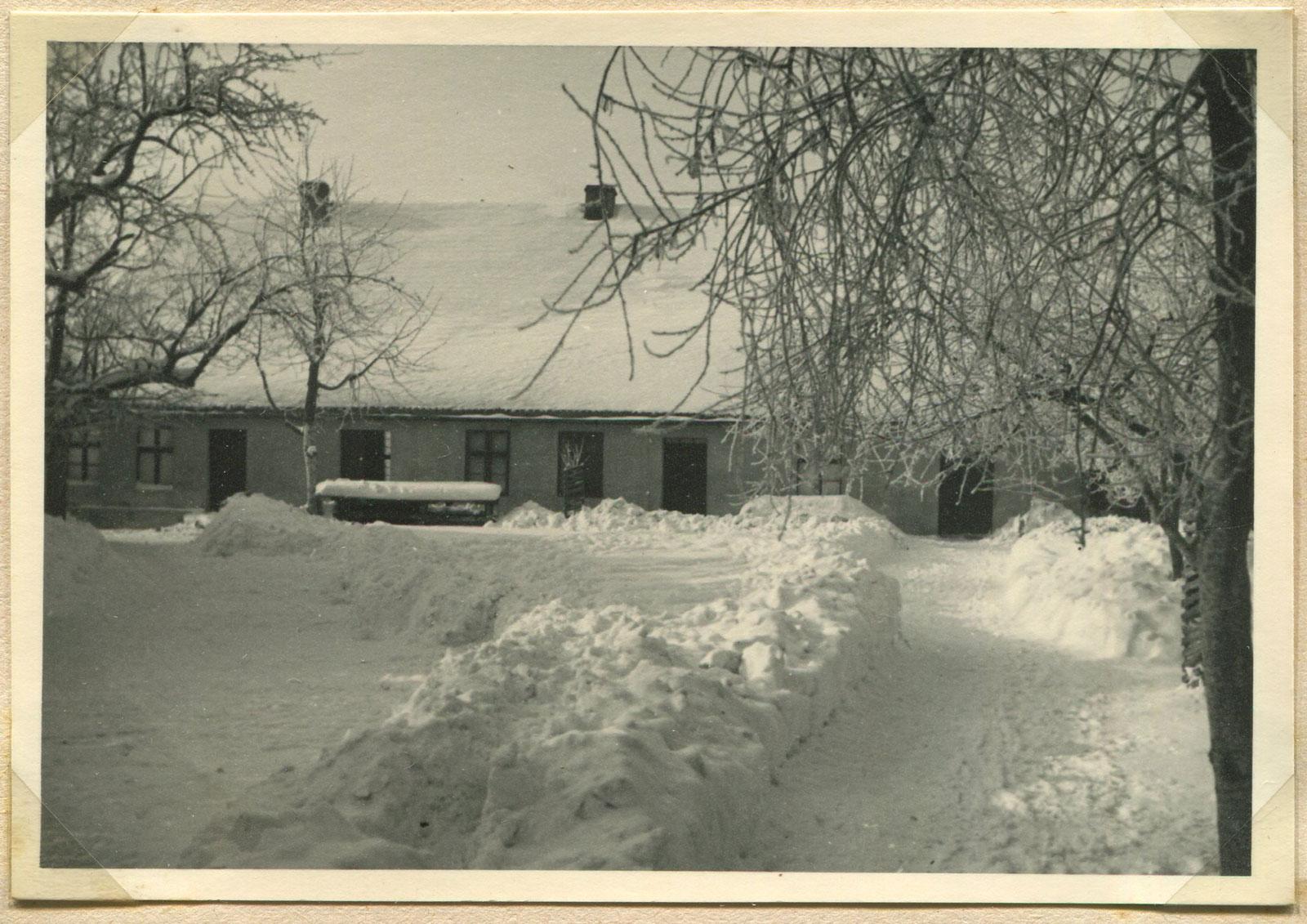Plac Browarowy w Kórniku - zima 1939 rok