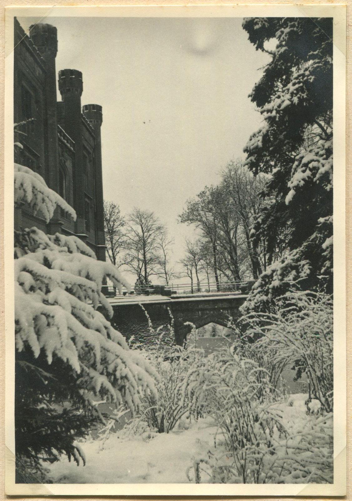 Zamek w Kórniku - zima 1939 roku