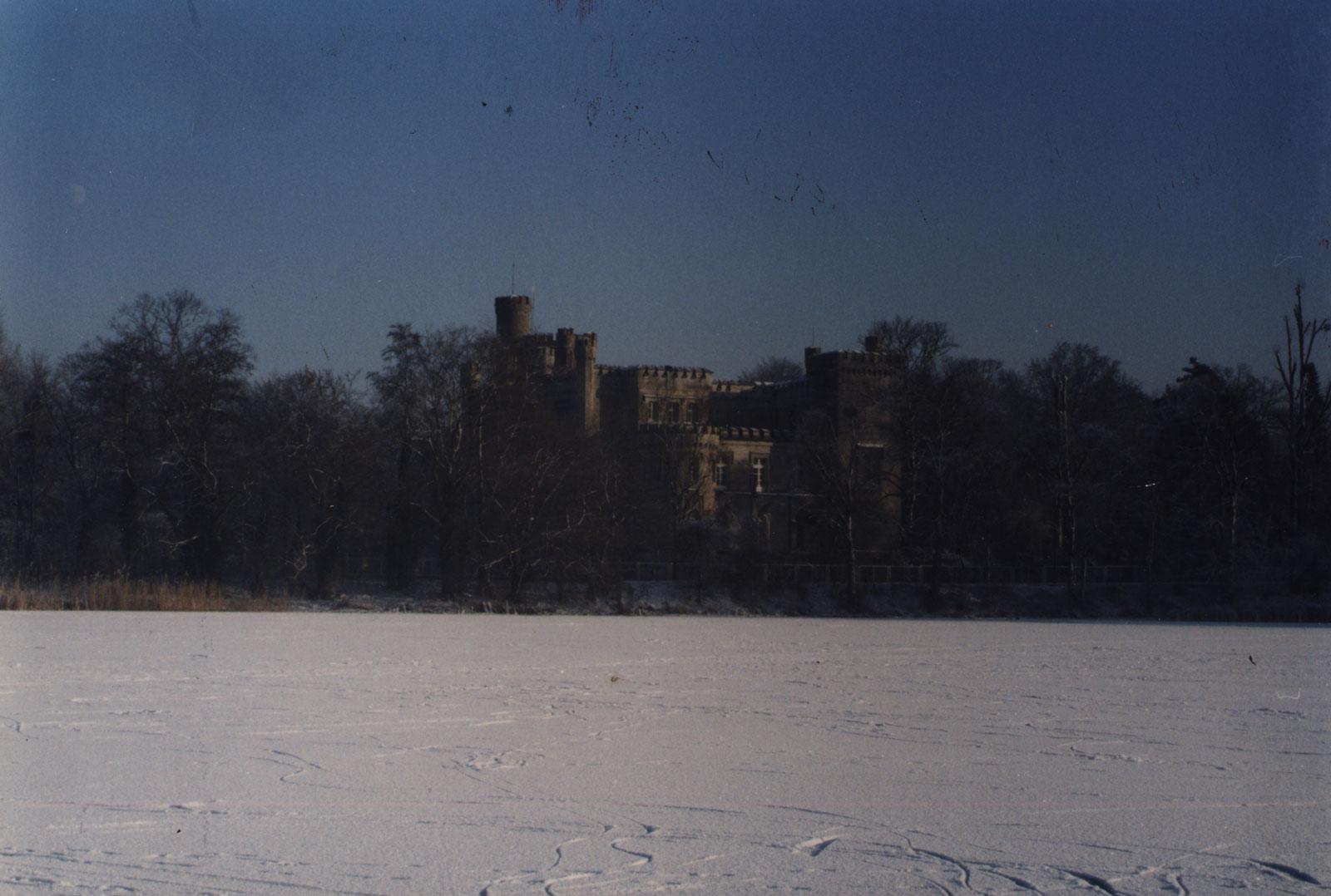 Zamek w Kórniku, zima 1993