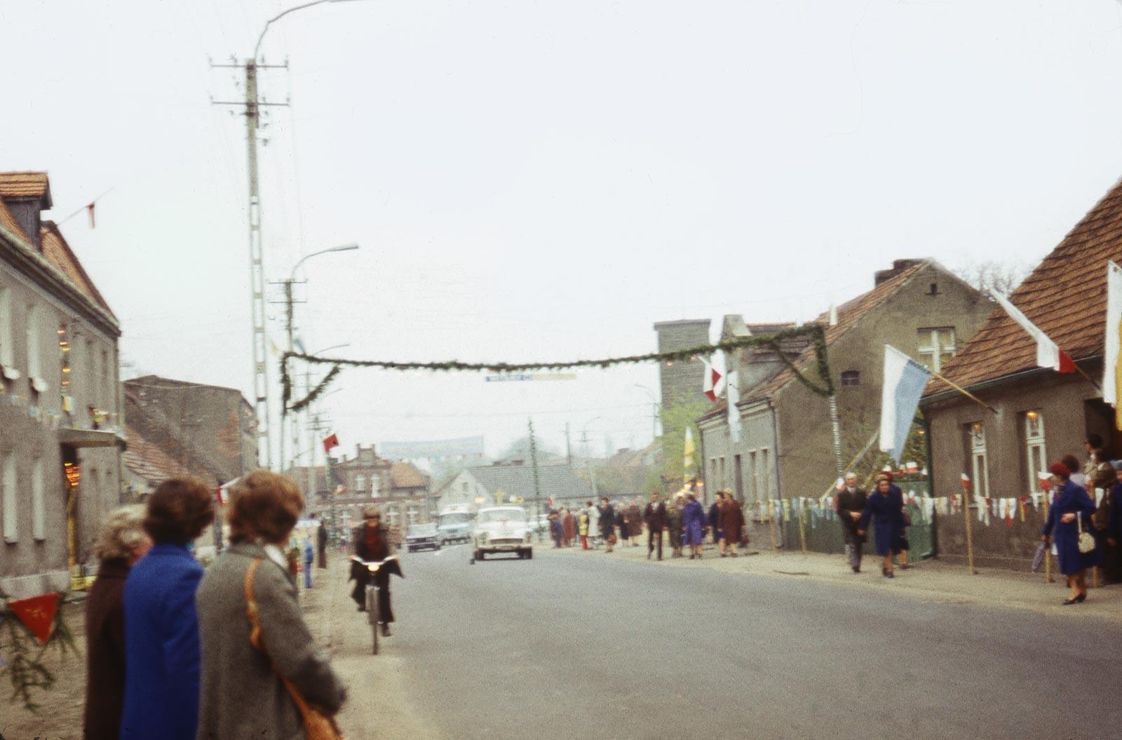 Nawiedzenie Obrazu Matki Boskiej Częstochowskiej - Bnin 1977