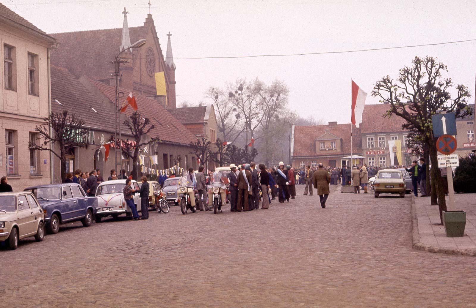 Nawiedzenie Obrazu Matki Boskiej Częstochowskiej - Kórnik 1977