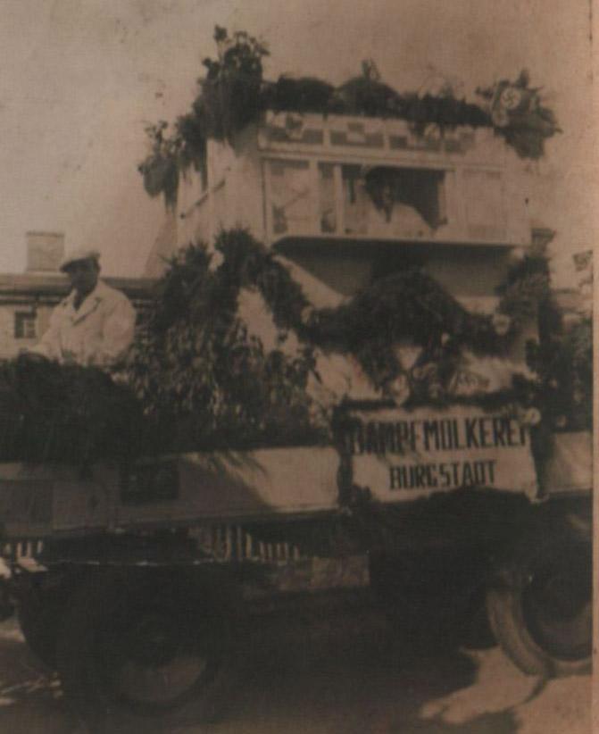 Mleczarnia Kórnicka Ocara Mayera 1935r Kórnik
