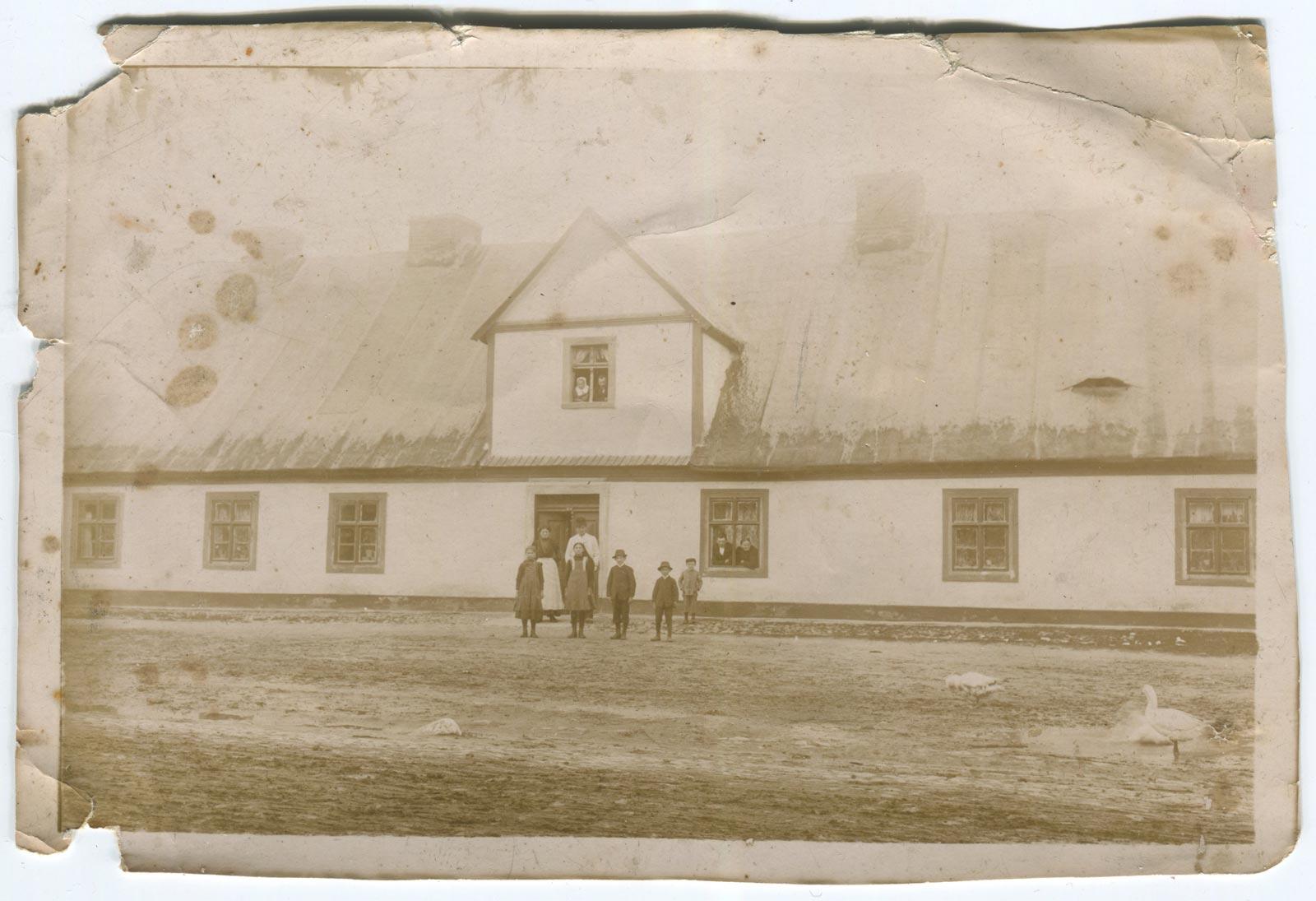 Gospodarstwo, ul. Poznańska - Kórnik, ok. 1900 rok
