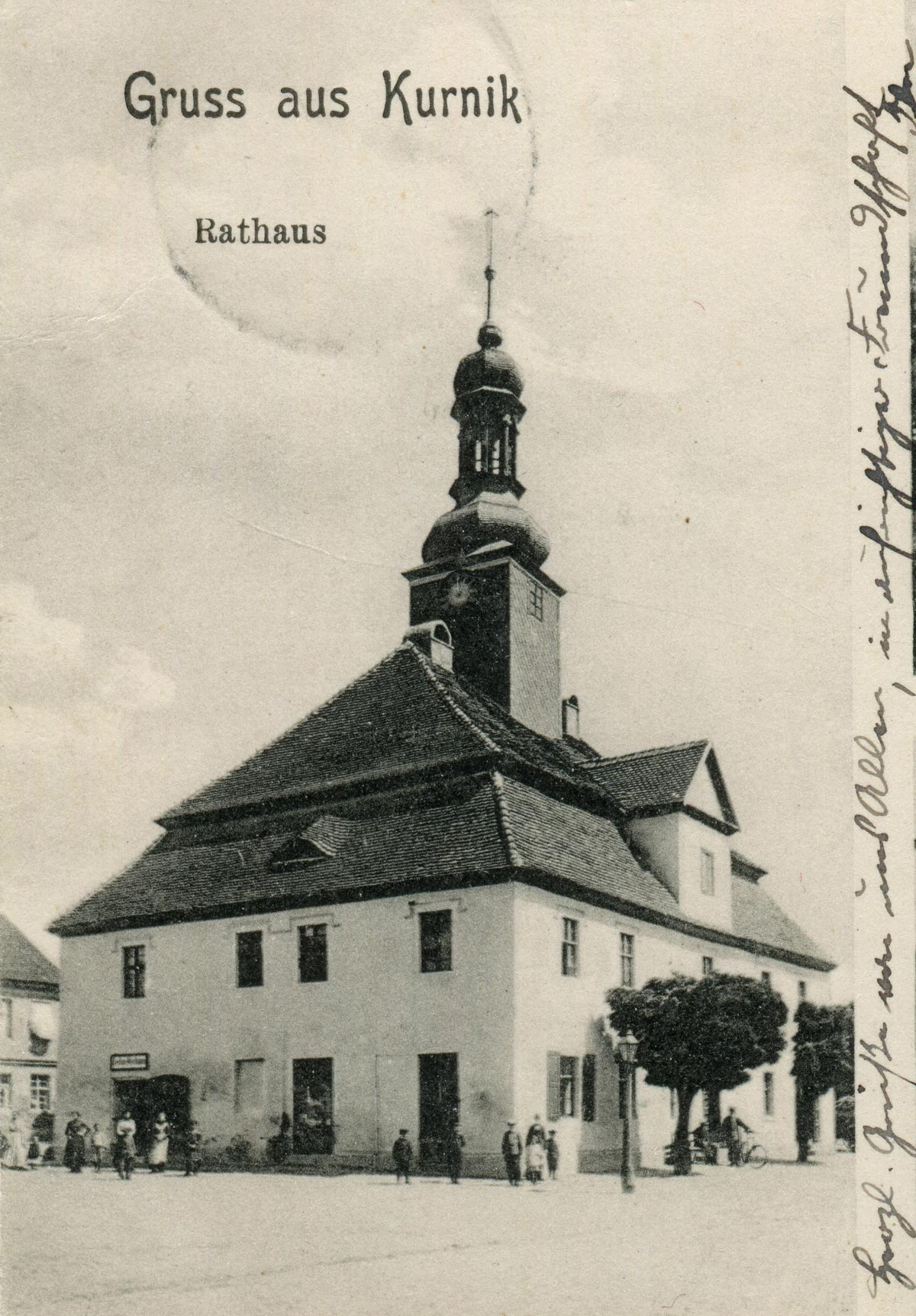 Ratusz w Kórniku - 1909 rok