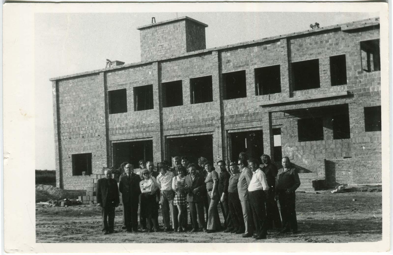 Budowa strażnicy Ochotniczej Straży Pożarnej w Kórniku