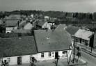 Widok z wieży ratusza w Bninie na północny zachód - 1961 rok