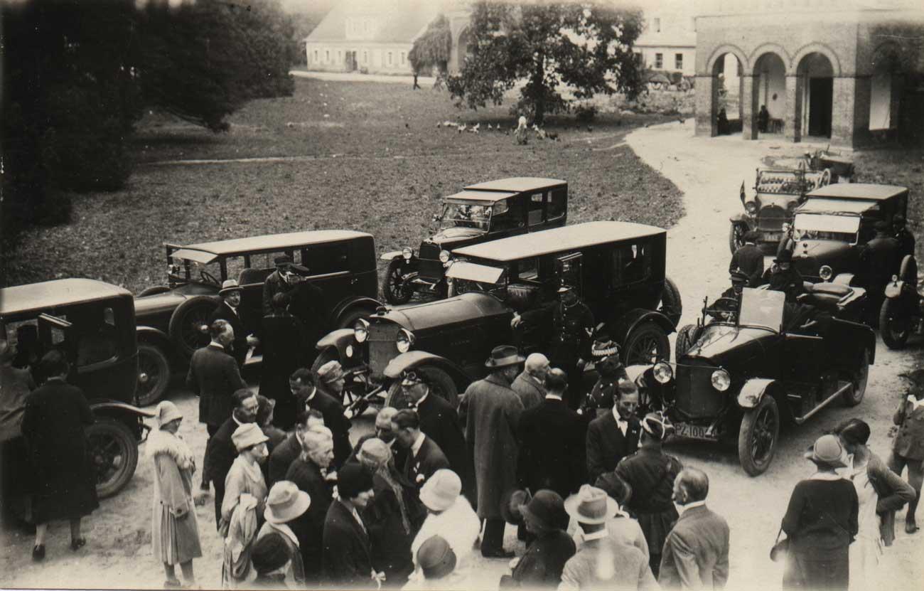 Podzamcze Kórnik - rok 1927