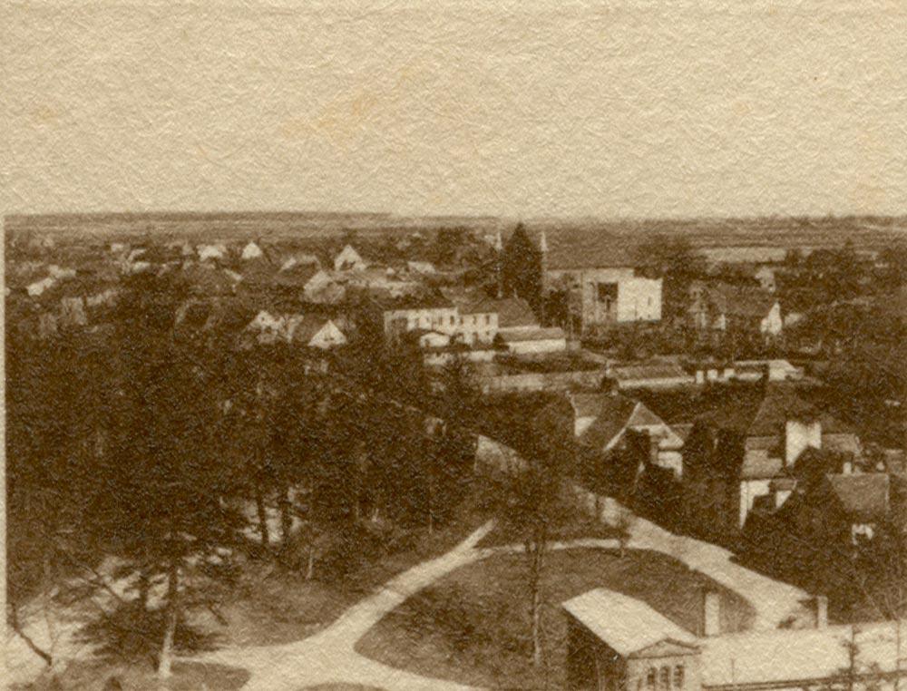 Podzamcze Kórnik - około 1920 rok