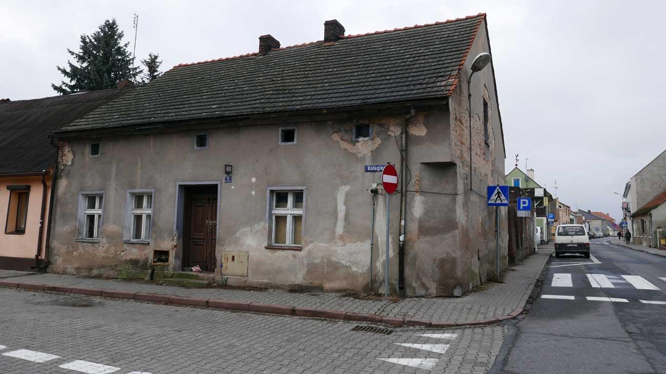 Dom rodziny Derów, ul. Kolegiacka, Kórnik 2019